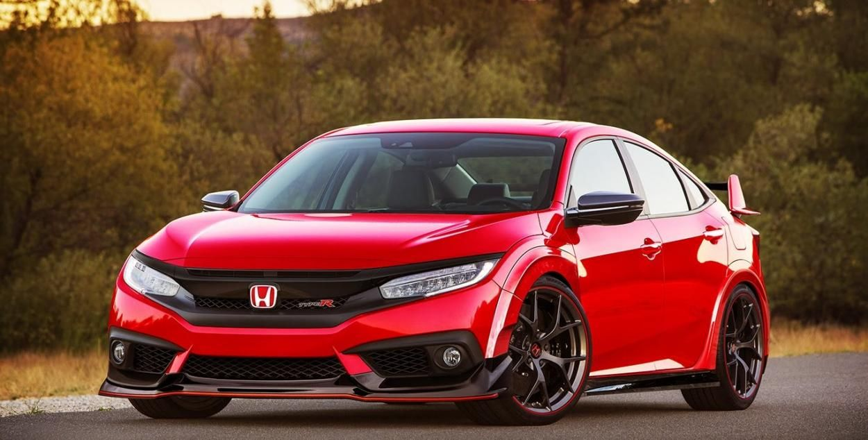 2018 Honda Civic Type R Red Price