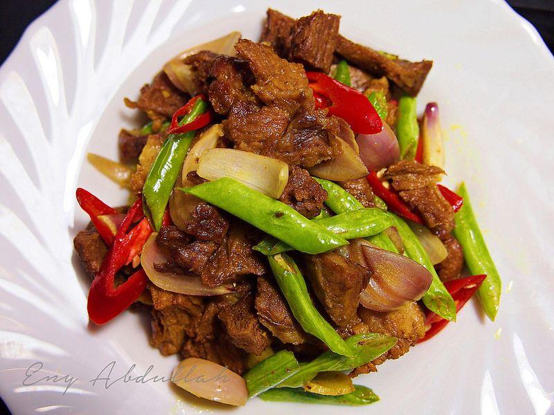 Daging Goreng Kunyit Kelantan Style Food Beef Eating Well
