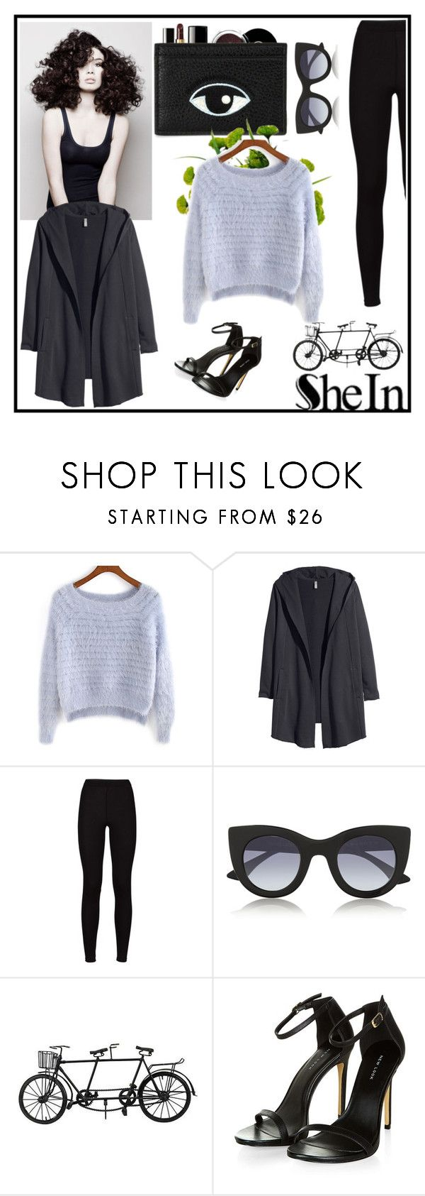 """""""Shein <3"""" by know-urself ❤ liked on Polyvore featuring Chanel, Angelo, H&M, Thierry Lasry and shein"""