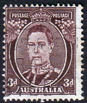 Australia 1938 SG 187 King George Fine Used SG 187 Scott 183A Condition Fine Used Only one post charge applied on multipule purchases Details N B