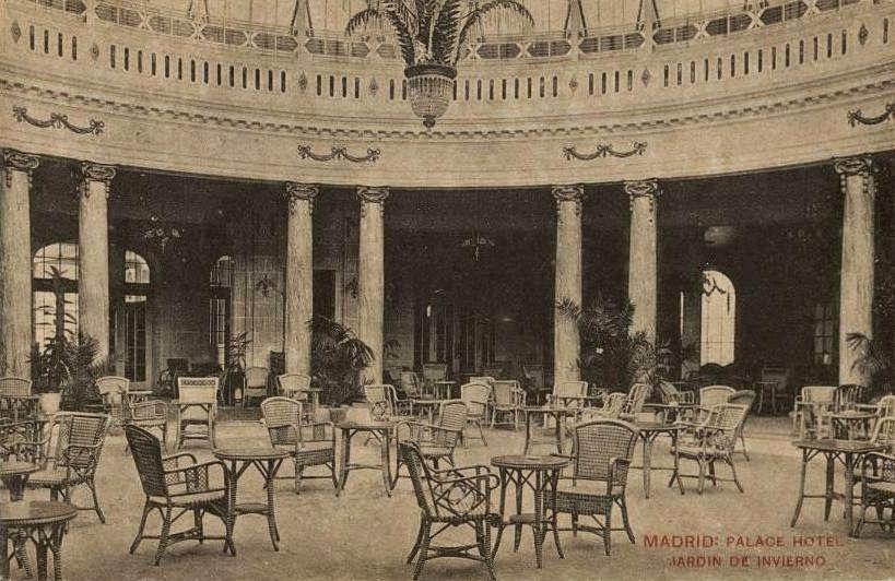 El jard n de invierno del hotel palace en 1917 raoul for Jardin de invierno loi suites