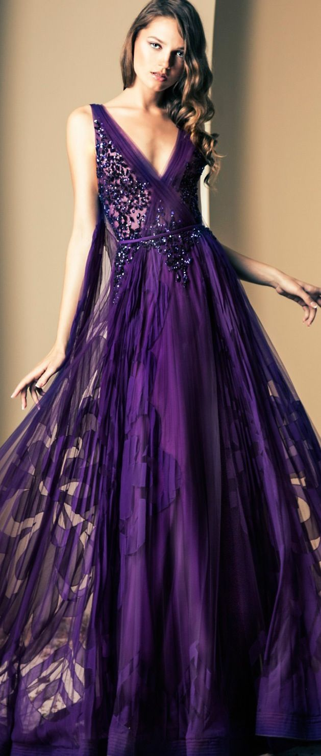 Ziad Nakad 2014 Fall Couture Collection | Dresses and Great shoes ...