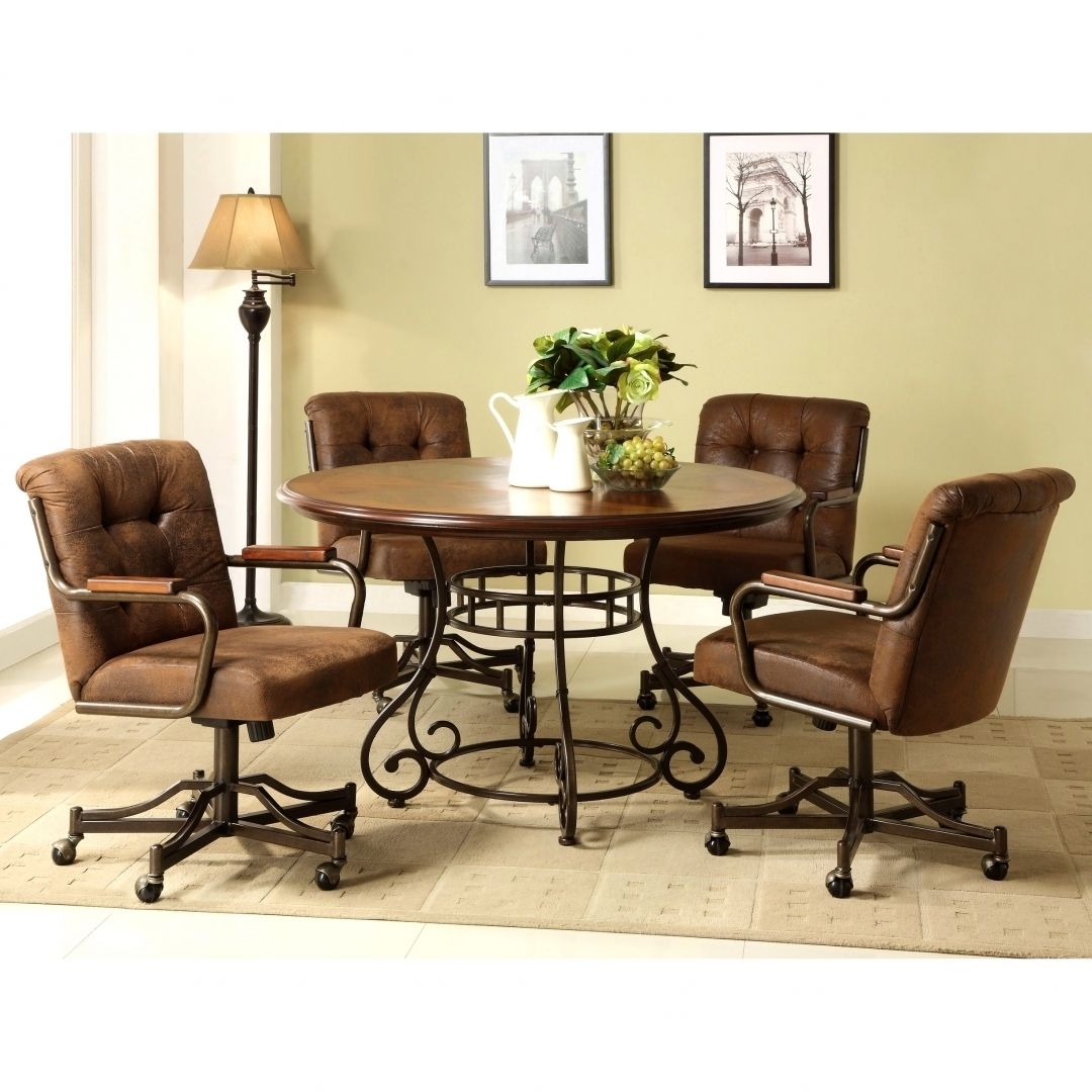 Room · Fascinating Dining Room Chairs With Casters ...
