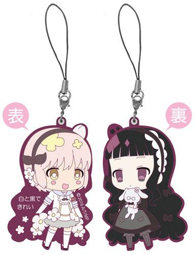 Snow White /& Hardgore Alice Double-sided Strap Magical Girl Raising Project