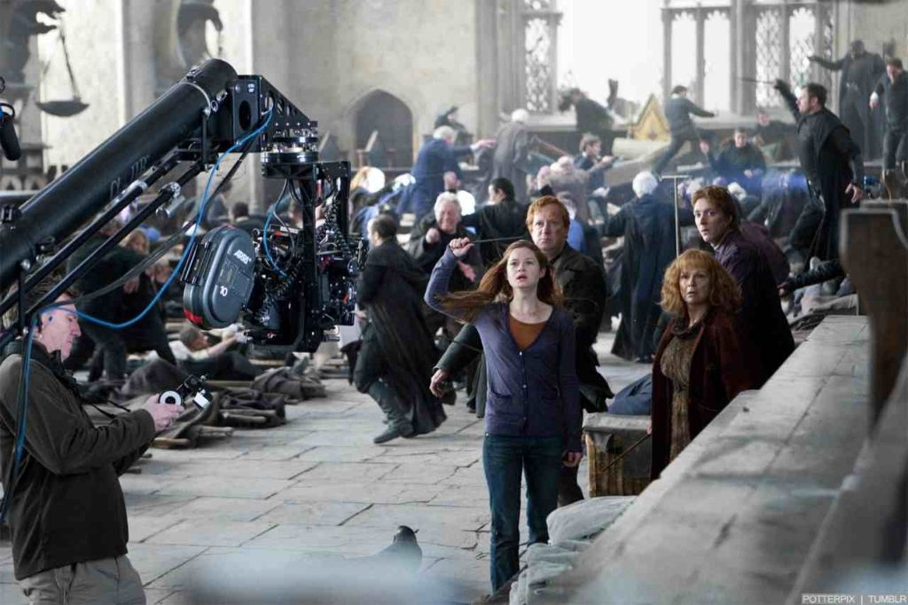 Harry Potter Camera Crew : Making of cinema pesquisa google hunger games and harry potter
