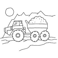 Top 10 Dump Truck Coloring Pages For Your Toddlers (With ...
