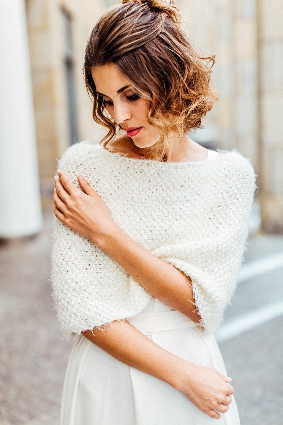 Schulterwärmer für die Braut in 2020 | Hochzeit jacke ...