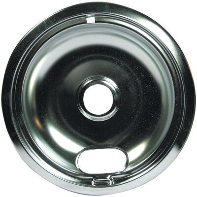 Range Kleen Style B Chrome Universal Range Drip Pan Size 1 75 H