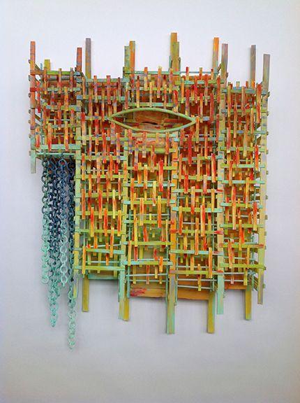 Jay Musler Tangerine Glass Sculpture