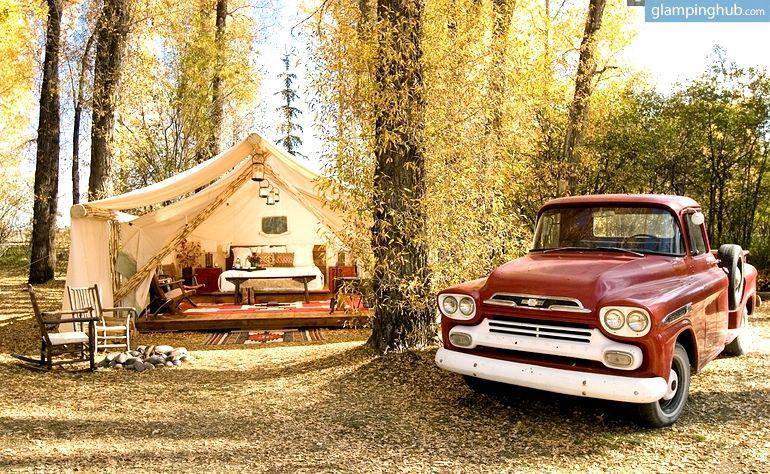 Jackson Hole Tent Cabins   Luxury Tents Jackson Hole