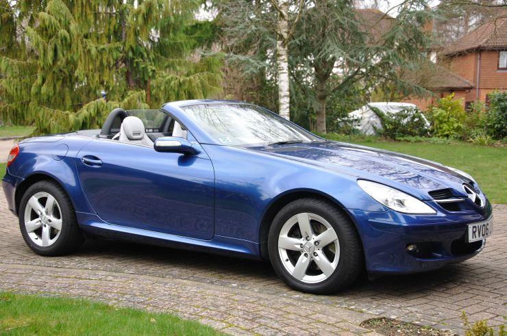 Mercedes Slk 280 Manufactured In Bremen Germany During February