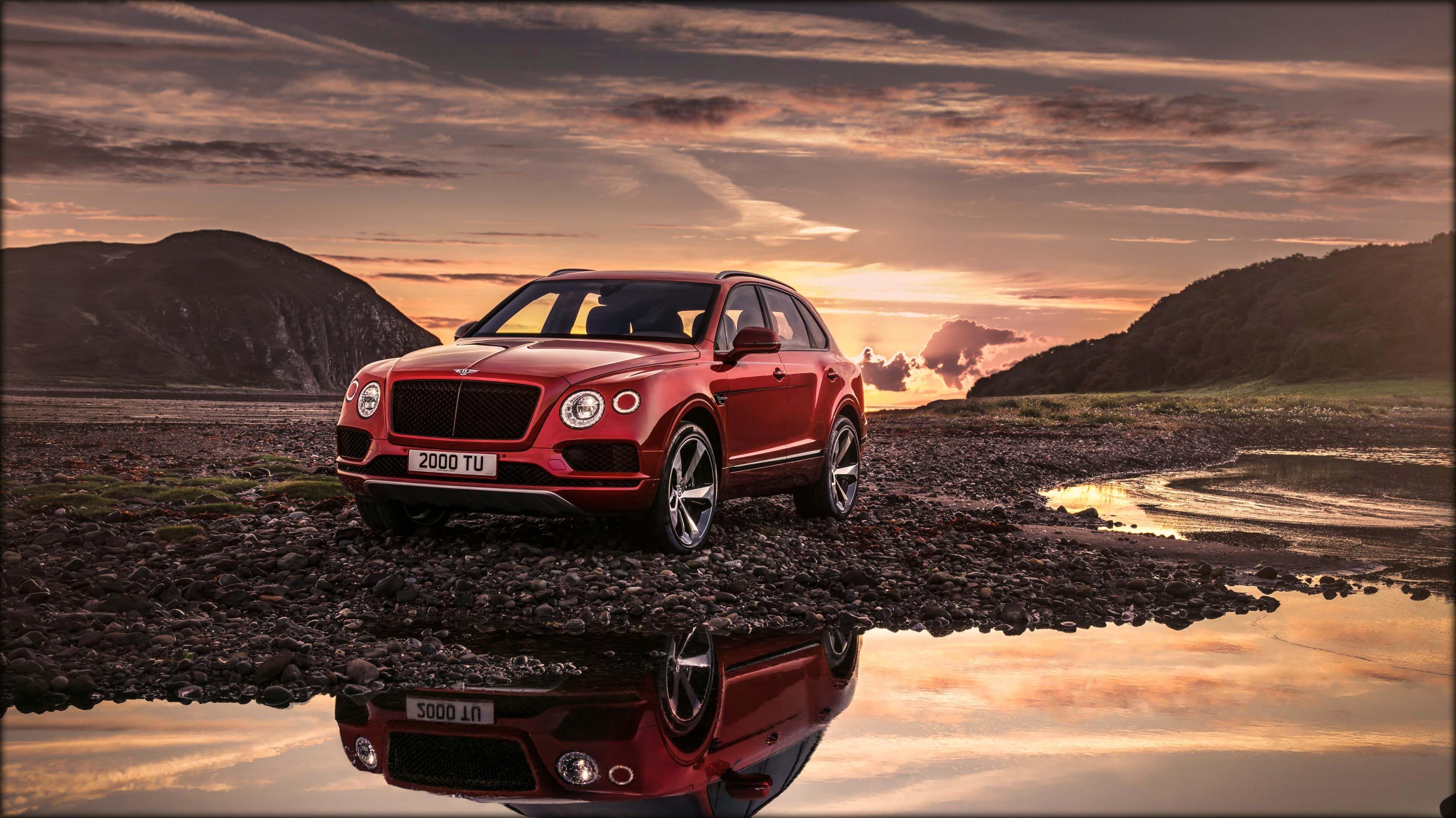 Image For Design Car 2018 Bentley Bentayga V8 4k Wallpaper