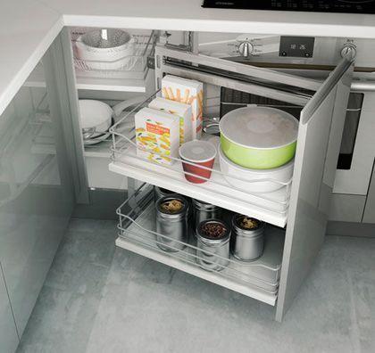 Rangement cuisine  les 40 meubles de cuisine pleins d\u0027astuces Cuisine