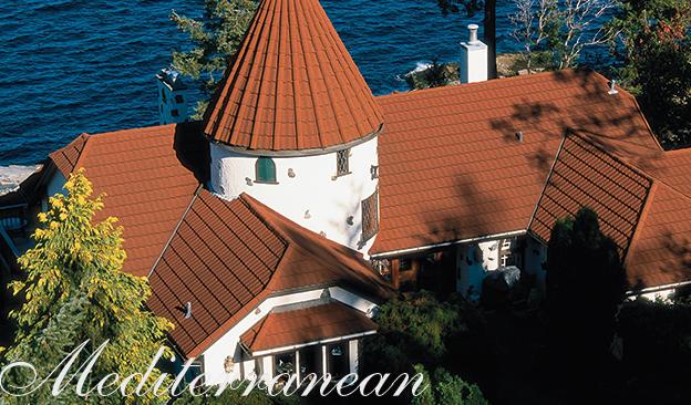 Best Metal Roofing Tiles By Decra Tile Mediterranean Steel 400 x 300