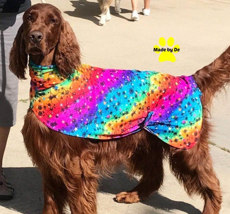 Dog Drying Coat dog slinkie dog grooming coat dog coat