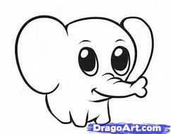 Draw Pattern Image Result For Easy Thing To Draw For Beginners Step By Step Codesign Magazine Daily Updated Magazine Celebrating Creative Talent From A Baby Animal Drawings Cute Elephant
