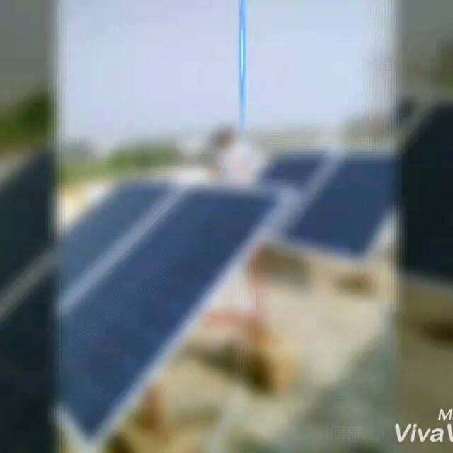 1kw Off Grid Solar Power Plant Installation With Solar Universe India Sui 250w Solar Modules At A P Solar Power Plant Off Grid Solar Power Plant Installation