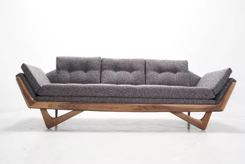 12 Affordable Mid Century Modern Sofas You Can Buy Online Affordable Mid Century Modern Sofa Mid Century Modern Sofa Modern Sofa