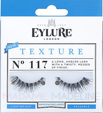 526a0a72c40 Eylure Naturalites TEXTURE N° 117 Strip Lashes has full and lengthy lashes.  This style resembles Ardell Demi Wispies lashes and have long, angled lash  with ...