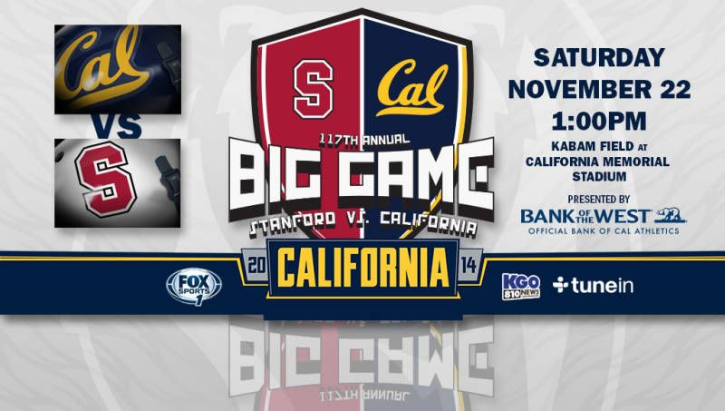 Cal will become bowl eligible with a win over the Cardinal