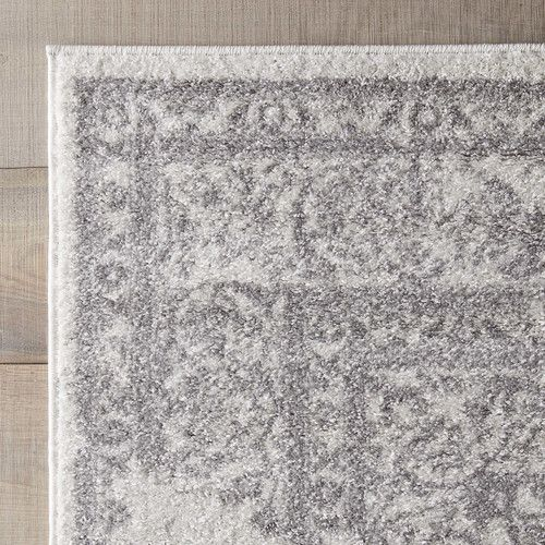 Found It At Allmodern Blanche Rug In Ivory Amp Silver