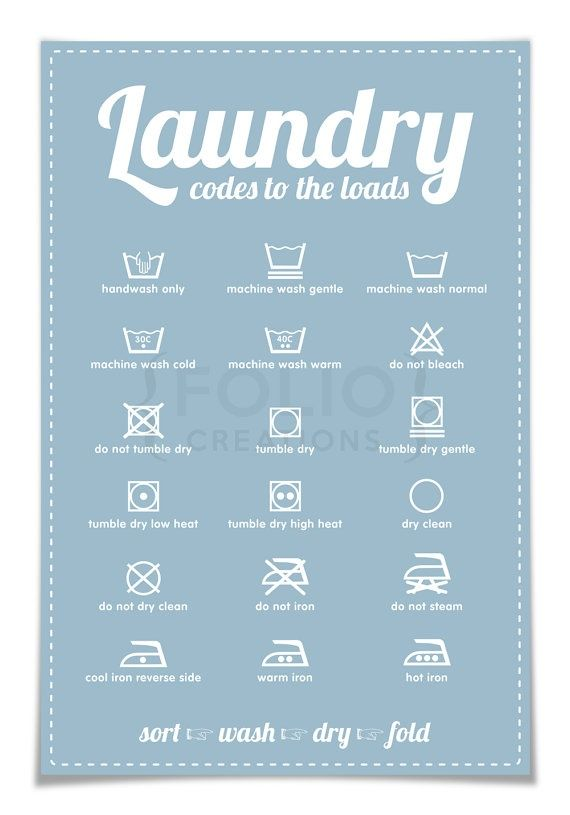 Laundry Room Posters Pinjaden Kay On Recipes  Pinterest  Laundry Symbols And