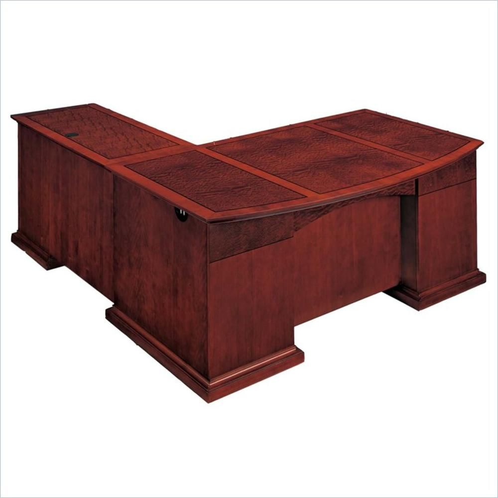 l shaped desks home office. DMI DMi Del Mar Executive Bow Front L-Shaped Desk - Side Option Home L Shaped Desks Office E