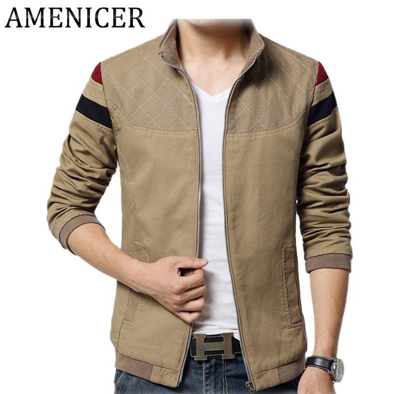 New 2016 Mens Casual Jacket Mandarin Collar Casacas Hombres De Marcas  Abrigos Y Chaquetas Hombre Military Style Jackets For Men military style  jackets for ... d7a0a1accb