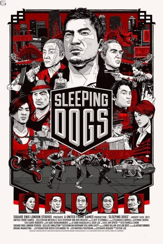 Tyler stout sleeping dogs prima games variant 2012