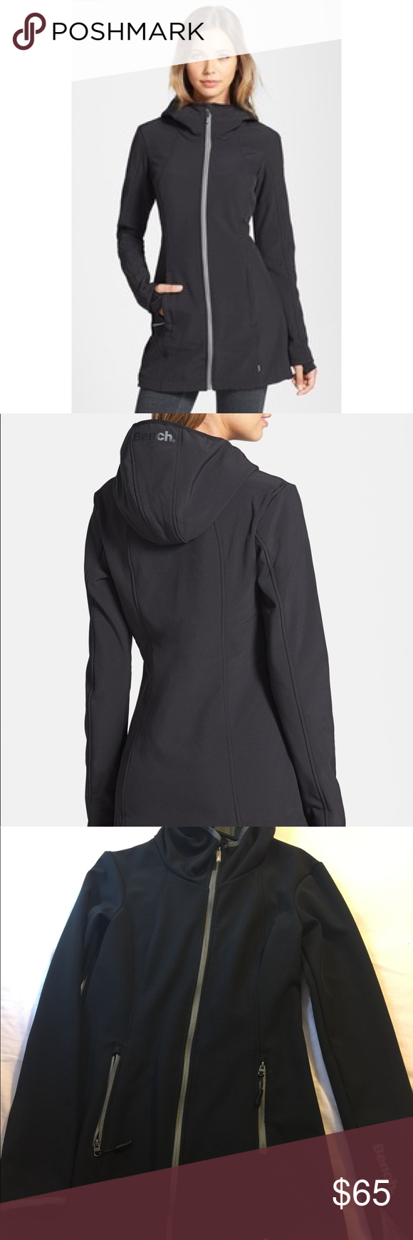 Bench Hooded Soft Shell Jacket Fashion Clothes Design Fashion Design [ 1740 x 580 Pixel ]