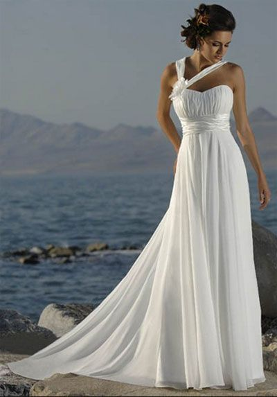 Patterns for Beach Wedding Dresses