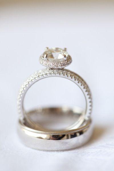 Cut My Teeth On Wedding Rings : teeth, wedding, rings, Laguna, Beach, Wedding, Platinum, Weddings, Kerrie, Rings, Vintage,, Engagement,