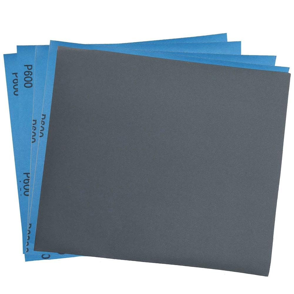 600 Grit Dry Wet Sandpaper Sheets By Lotfancy 9 X 11 Silicon Carbide Sandpaper For Metal Sanding Automotive Polishing Wood Wood Furniture Sandpaper Sheets