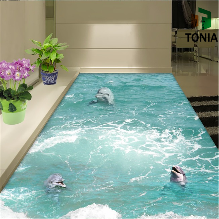 3d Wall And Floor Tile 3d Flooring Bathroom 3d Tile Price - Buy 3d ...