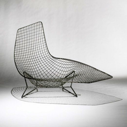 Welded Steel Prototype Lounge Chair For Knoll Knoll Associates,