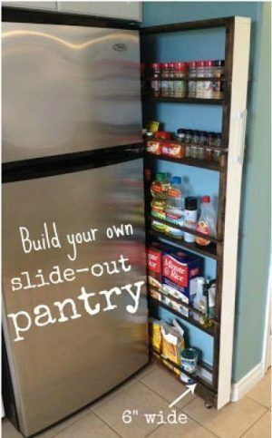 How to Make Space for a Pantry When You Have a Tiny Kitchen | Of Life + Lisa
