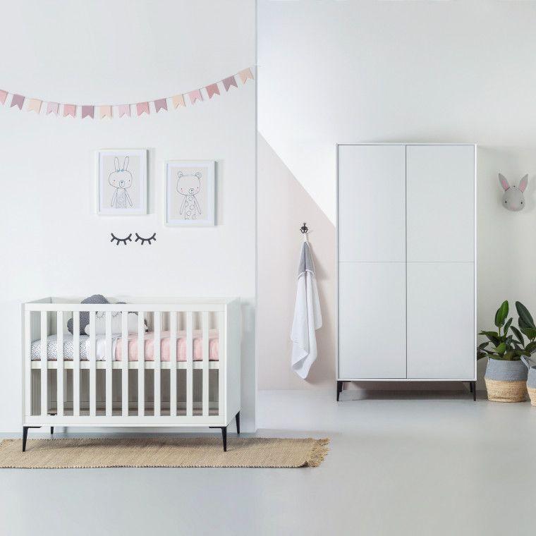Babykamer Wit Grijs.Kidsmill Lasse Babykamer Wit Babykamer In 2019 Babykamer