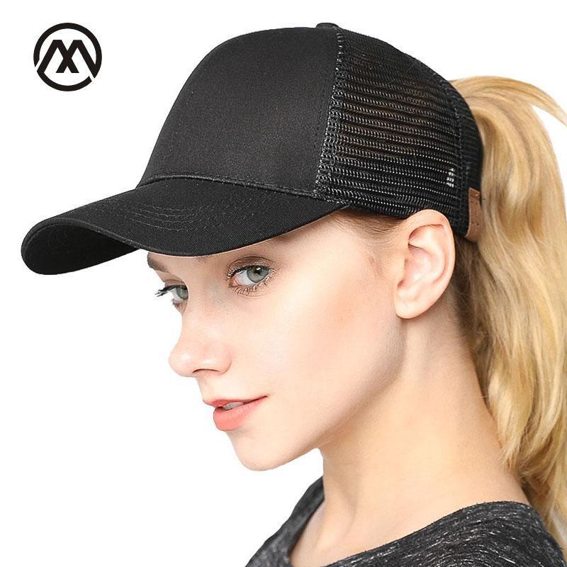 High Quality Women C.C Ponytail Caps Messy Buns Trucker Plain Baseball Cap  Summer mesh cap Fashion Snapback Sports Hat net bone. Yesterday s price  US   9.68 ... f6ade0839729
