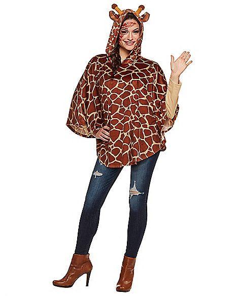 Halloween costumes · Adult Giraffe Poncho - Spirithalloween.com  sc 1 st  Pinterest & Adult Giraffe Poncho | Giraffe Ponchos and Family halloween