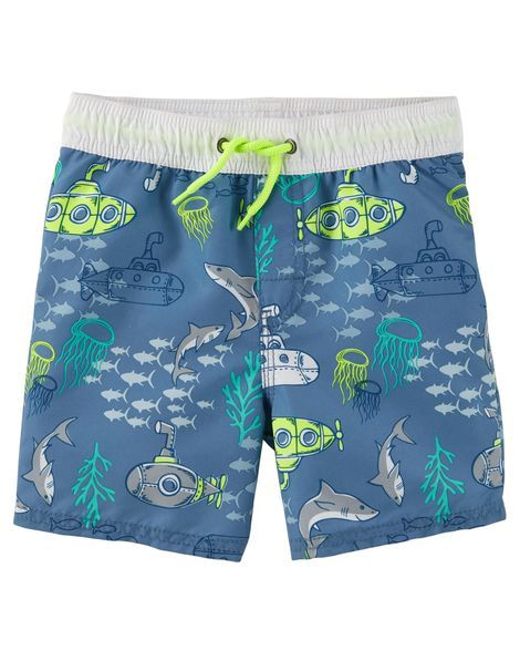 6b0e6ff4d8 OshKosh Ocean Icon Swim Trunks from OshKosh B'gosh. Shop clothing &  accessories from a trusted name in kids, toddlers, and baby clothes.
