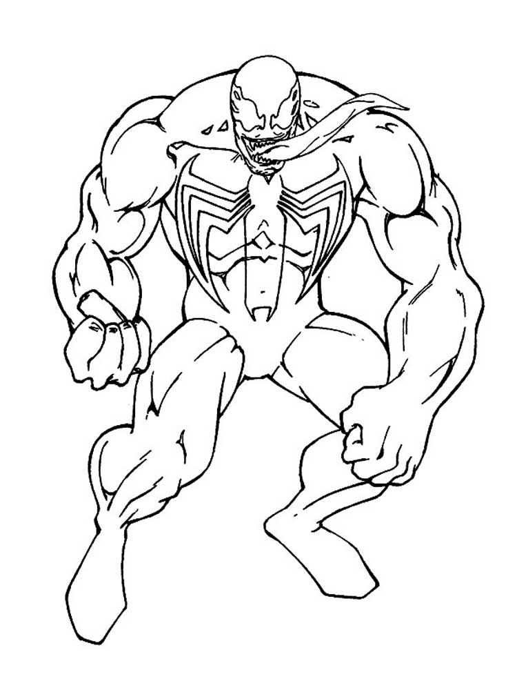 88cf73821b0cf86aa6c0a60be089ed97 » Venom And Spiderman Coloring Pages
