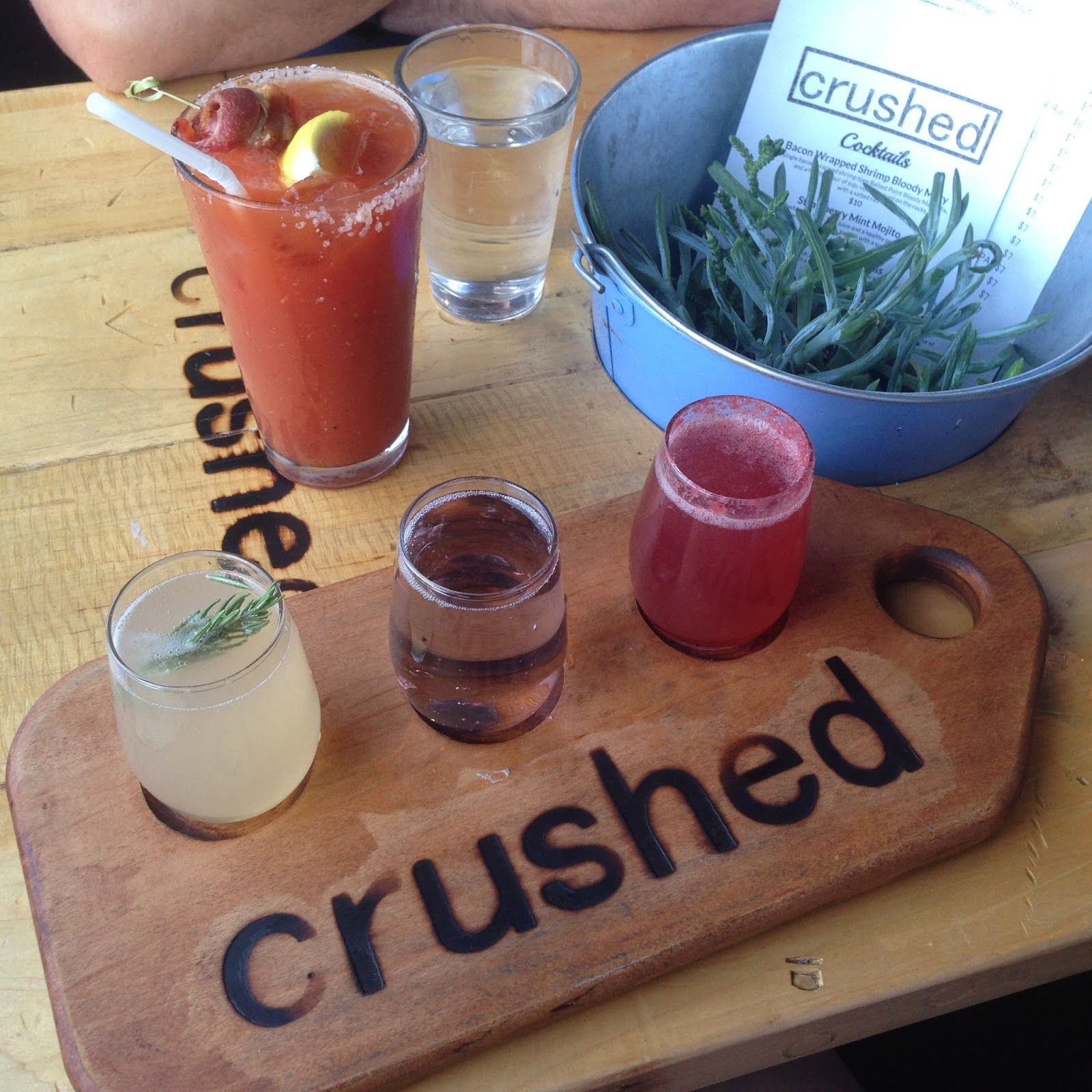 Ordinaire { Wisp + Whim: San Diego Days } Brunch At Crushed.
