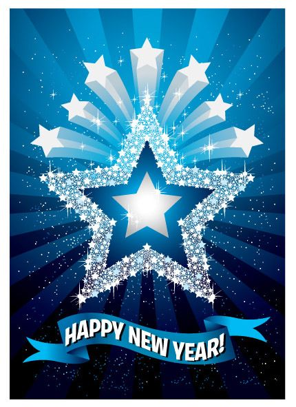 25 beauiful 2014 new year greeting card designs for your inspiration new year greeting card m4hsunfo
