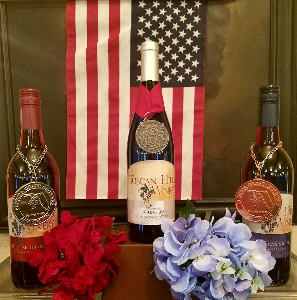 Tuscanhillswinery Showed Off Their Decor Talent With This One Tuscanhillswinery And Visiteffinghamil Support The Olympics Tuscan Wine Bottle Wine Recipes