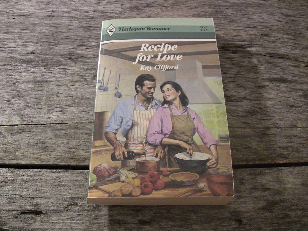 Harlequin Romance Paperback Book 2912 Recipe for Love Kay