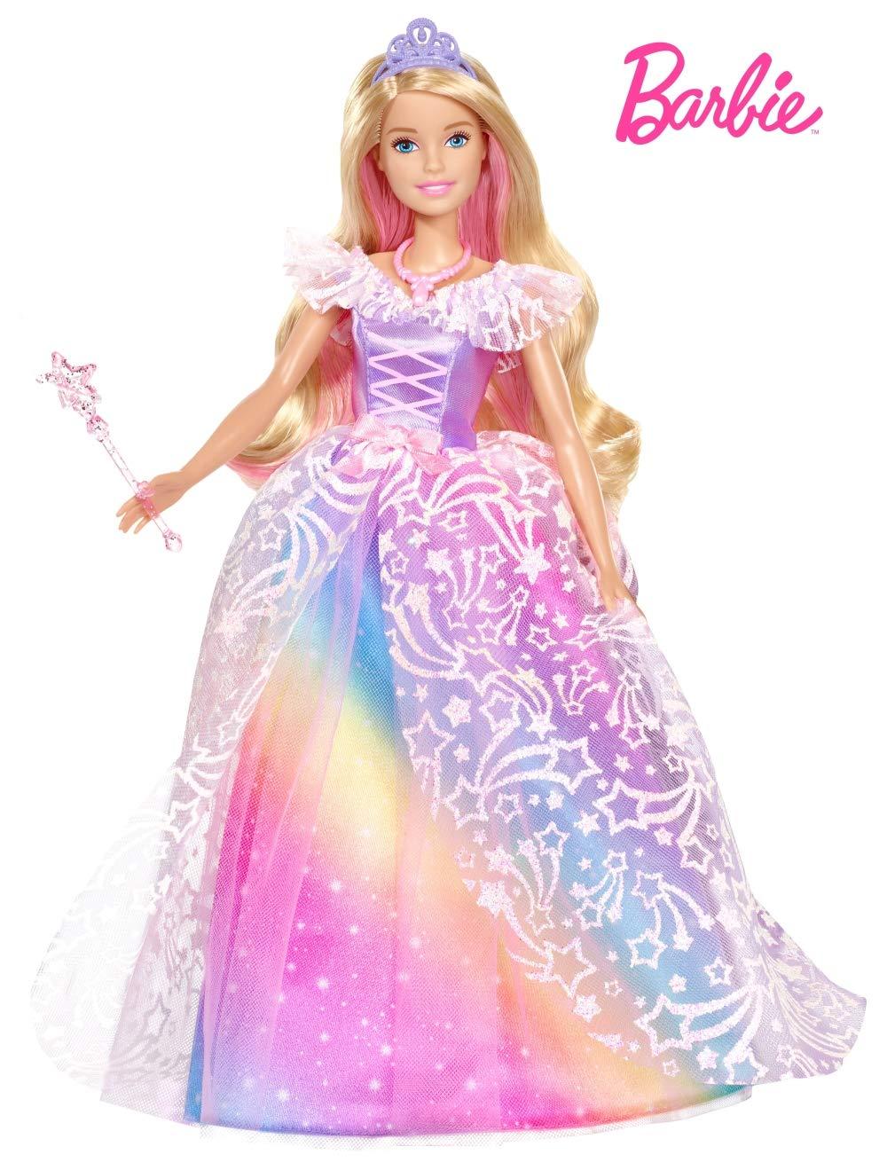 Amazon Es Barbie Dreamtopia Muneca Superprincesa Con Accesorios Mattel Gfr45 Juguetes Y Juegos Vestido De Gala Vestidos De Munecas Barbie Munecas De Moda