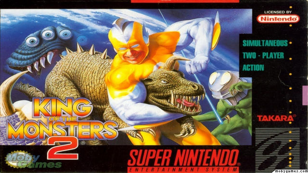 Enjoy new game Classic King of the Monsters 2 was