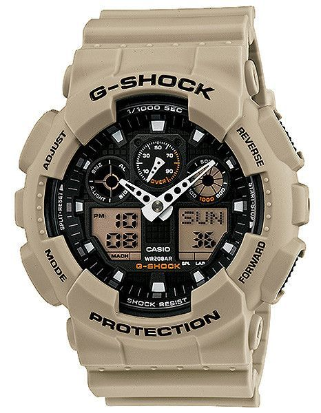 """It's been a while since I got a new watch... but I finally gave in. I like this """"sand"""" color. Yet still a classic G Shock"""