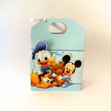 Lonchera Baby Mickey Azul
