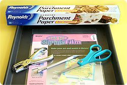 Print photos onto shrinky-dink paper (can buy at craft stores) and shrink to make jewelry, magnets, etc.